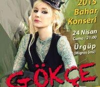 Nevşehir Gökçe Konseri